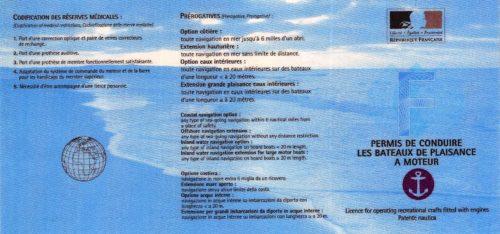 Permis Cotier